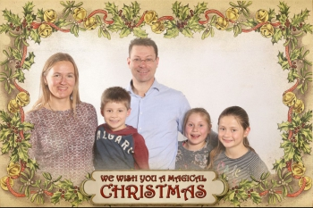 A Magical Christmas FotoBooth