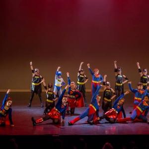 12 Super Heroes Movie Tributes Het Dansatelier by X-Noize-52-LR